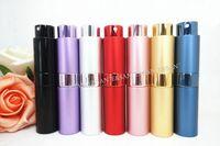 mini perfume atomizer - 216PCS ML New Style Portable Travel Refillable Perfume Spray Bottles Mini Perfume Atomizer with DHL L45 ML