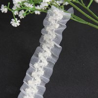 stretch lace trim - Braided Elastic Stretch Lace Trim Off White Ribbon Trimming mm Applique Sewing Supplies for Costumes Dress yard T1113