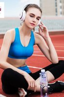 Wholesale Basic Sport Bra in five colors Wireless little push up fit for Yoga Running Fitness free shpping and high quality
