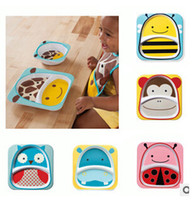 dinner plate - 2014 color cute cartoon boys girls new SKP meal plate hedgehog butterfly good quality dishes plates Dinner Plate Bowl topB554