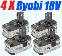 Wholesale 4 Pieces Ryobi Battery P104 ONE Ryobi V li ion Battery Free Ship order lt no track