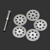 Wholesale Mini Sharp Rotary Diamond Cutting Discs Disks Dremel Tools With A Rod mm