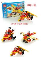 plastic model kits - 2014 Latest Educational toy DIY plastic building block glider model model building kits