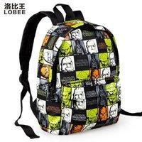 Wholesale Star Wars Backpack Kids School Bags For Boys Teenagers Cartoon Bags Children Backpack D Printing Aged