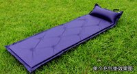 Wholesale New Automatic Inflatable Sleeping Mattress Larger Outdoor Camping Tent Pads Waterproof camping Cushion