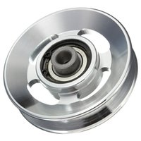 Wholesale 88mm Aluminium Alloy Bearing Wheel for Fitting Equipments Best Promotion