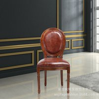 Wholesale Quality brown chair custom furniture and spacious wood chair furniture
