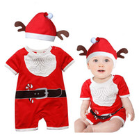 Wholesale 2015 the new children s clothing foreign trade export high quality embroidered christmas clothes Hooded climb clothes