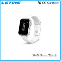 apple telephone support - DM09 Smartwatch For IOS Android Smartphone Bluetooth Camera Montre Connecte Telephone Support SIM Card Smart Watches