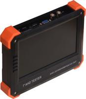 analog multimeter - 7 quot TFT LCD Analog camera CCTV Tester Digital Multimeter Optical power met Multi protocol PTZ control VGA AHD HDMI x41a