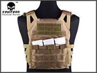airsoft vest - Tactical Jumper carrier Vest D Cordura EMERSON JPC Vest simplified version Airsoft Combat Gear EM7344