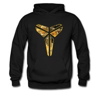 Wholesale new Spring Autumn Winter Sweatshirt hoodie Black Mamba Kobe Bryant photo basketball inverted triangle Peter Pan
