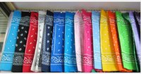 Wholesale Fashion Unix Bandanas Cotton Cartton Style Trave Riding Head Scarf Mixed