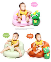 Wholesale Infant Mother s portable Safety Inflatable Baby Bath Seat to Toddler Tub For Dining Child Bath Sofa Seat Stool Waterproof