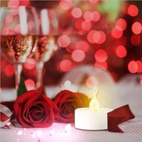 best outdoor christmas decorations - led Night light Best Valentine s Decorations Mini Tealights Christmas Outdoor Decoration Christmas Suppliesled Candle