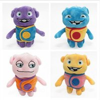 alien stuffed toy - 2016 new style Aliens Drive Me Crazy Movies oh boov Stuffed Plush Toy Cartoon Plush Toys Stuffed Animals via DHL ship