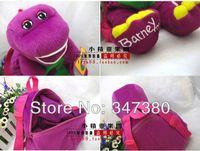 barneys bag - piece High Quality Plush Barney Dinosaur Plush Backpack Soft Bag New quot and Retail
