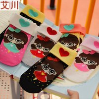 Wholesale Combed cotton socks a11c thickened flanging Princess socks high bone socks