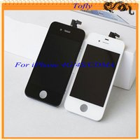 Wholesale 2015 Factory For iPhone G S Lcd Display Touch Screen Digitizer Assembly Replacement Repair Parts For White Black