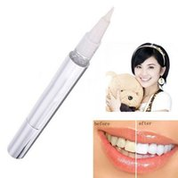 Wholesale Teeth Whitening Pen Tooth Gel Whitener Bleach Stain Eraser Remove Instant Top Quality Teeth Whitening Pen gold Colors silver Colors