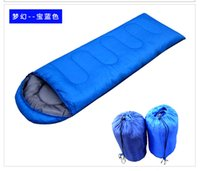 Wholesale Adult Mummy Sleeping Bag Hot sale Traveler Lovers Thermal Sleeping Bag Splicing Carrying Case Camping Hiking Outdoor Envelope Hooded bags