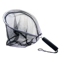 Wholesale SAMS FISHING Fly Fishing Aluminium Landing Nets Fish Saver Nylon Knotless Mesh Aluminum Frame for Landing Kayak fishing Fly Fishing