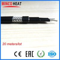 anti frost heater - Anti freeze Frost Protection Heating Cable For Water Pipe Self Regulating Electric Heater Wire m
