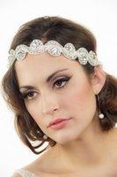 al por mayor pelo importada-importación al por mayor de lujo de Europa y novia de la novia del diamante del pelo del diamante banda tocado de la venda venta HY00202 diadema nupcial
