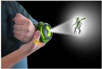 ban watch - New Japan BAN DAI Genuine Wristwatches New Cartoon BEN Kids Children Projector Watch Plastic watch