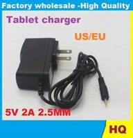 Wholesale 100V V to DC V A mm Power Adapter Supply Charger mm x mm US Plug for Android Tablet PC High Quality DHL