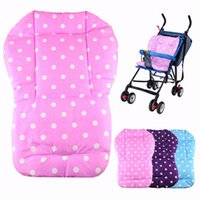 Wholesale Stylish fashion Baby thickness colorful stroller cushion child cart seat cushion cotton rainbow mat Pad for newborn