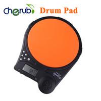 Wholesale Cherub DP Digital Electric Electronic Drum Pad Metronome Counter for Training Practice Multifunction