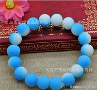 Wholesale 2015 Hot Color Beads handcraft jewelry Bracelet fluorescence Disco Shamballa Ball stand stretch bracelets