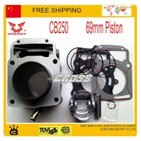 Wholesale ZONGSHEN CC valve engine water cooled CB250 cylinder block head gasket assembly mm size with piston ring set order lt no track