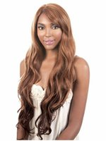 Wholesale New Fashion Wig Long Natural Curly Hair With Two Tone Color Light Brown Root to Black