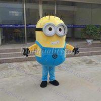 Brand New su ordine di alta qualità Cattivissimo me <b>minion costume</b> della mascotte per adulti <b>Minion costume</b> della mascotte