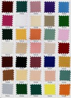Wholesale Color card flat stripe satin table cloth chair cover mouth cloth fabric