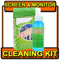 Wholesale Hot Sale Magical Laptop Computer LCD Led Monitor TV Cleaner Plasma Screen Cleaning Kit order lt no track
