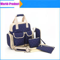 Wholesale Orgrimmar Multifunction Diaper Tote Bags with Larger Capacity Mummy Handbag Backpack Baby Nappy Bag Colors