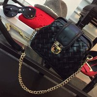 doctor bag - Europe new leather chain ling lattice female bags mall sweet wind restoring ancient ways is the doctor bag woven shoulder bag