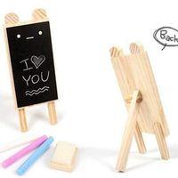 Wholesale New Korea creative stationery cute animal shapes warm mini bracket blackboard message board J664