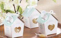 baby bird shower - mini Love Nest Bird house baby shower candy box wedding candy boxes wedding favor gift box chocolate box