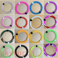 Cheap bracelets mud & water white and black bead pink Clear Blue Camo Green purple bracelets Wildlife silicone bands tag loom bands