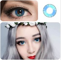 beauty contacts - Colorful Cosmetic contact lenses for eyes Beauty Girls series yealy use DIA mm Coloured contacts eye color Freeshipping