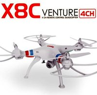 best service rc - Best Price Service TOP New Version syma x8c G ch Venture RC Helicopter With MP Wide Angle Camera RC Quadcopter Toys Drone