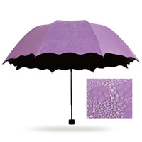 attract female - umbrella female umbrella rain women color to choose flower umbrella in water fashion umbrella Attract attention C8D3