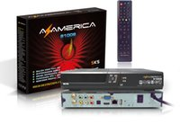 AZAMERICA original S1008 Brasil la Copa Mundial de la caja superior IKS + Soporte IPTV SKS mejor que AZAMERICA S1001 S1005 azbox titan