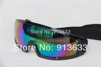 Wholesale In stock Aviator Pilot Cruiser Motorcycle Scooter Goggle Eyewear T307H Colour Lens