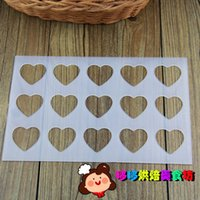 baking tile - Specials tile mold baking mold heart shaped chocolate mold ice cream mold chocolate brand