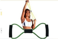 belt exercise machine - Yoga tension belt movement fitness of eight cable machine Yoga pull rope chest expander Household exercise Fitness equipment